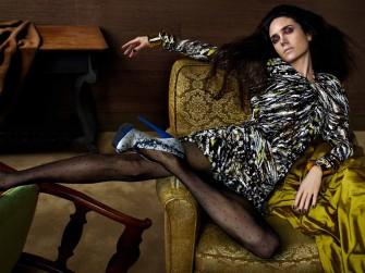 Jennifer Connelly para Balenciaga 2009-2010