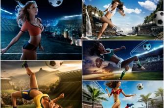 Sexy calendario del Mundial Brasil 2014