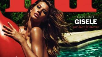 Gisele Bündchen ha posado desnuda para la revista Lui