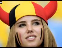 Axelle Despiegelaere, la hincha belga convertida en modelo
